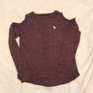 Abercrombie Kids Cold Shoulder Shirt
